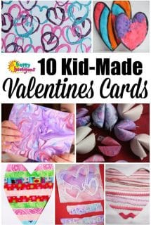 10 Homemade Valentine's Cards Kids can Make