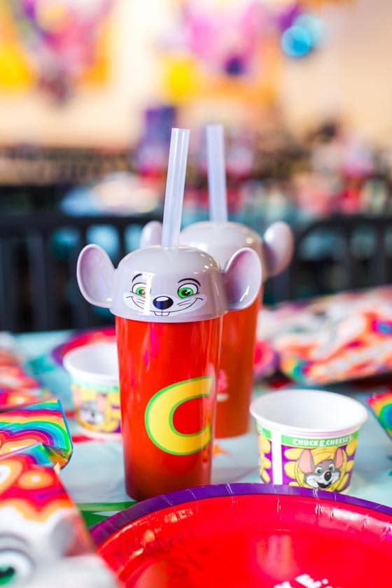Chuck E. Cheese Cups