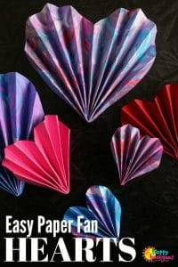 How to Fold a Paper Heart Accordion Fold