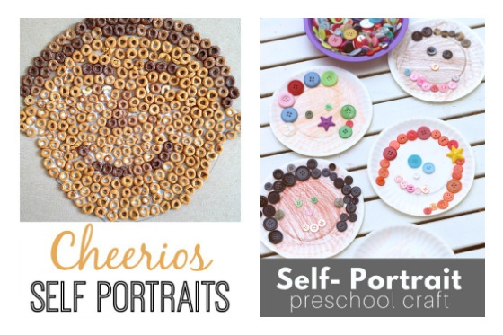 self portrait crafts for kids-2
