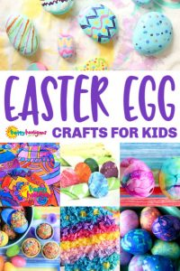 Easter Egg Crafts for Kids Toddlers to Tweens