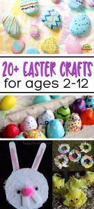 20+ Easter Crafts for ages 2-12