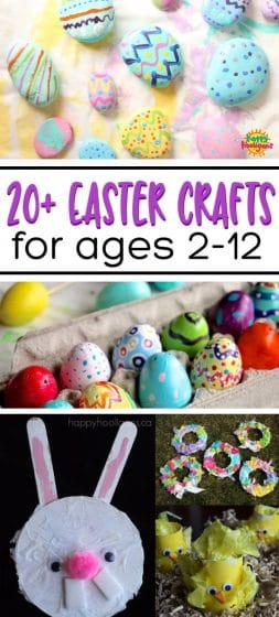 Easy Easter Crafts For Kids Of All Ages Happy Hooligans