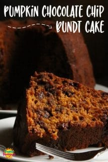 560 x 840 Pumpkin chocolate chip bundt