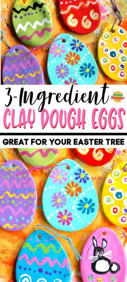 Clay Dough Eggs