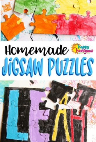 DIY Jigsaw Puzzles on Blank Puzzles
