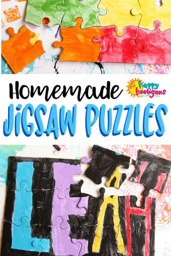 Blank Jigsaw Puzzles Kids Can Make