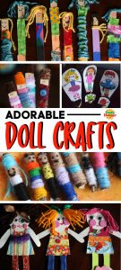 Homemade Doll Crafts for Kids - Long Pin