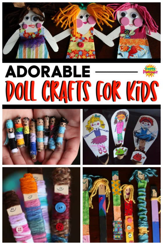 Homemade Doll Crafts for Kids
