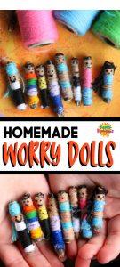 Homemade Worry Dolls