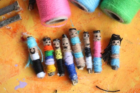Homemade Worry Dolls For Kids To Make Happy Hooligans