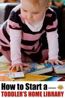 How to Start a Toddler's Home Library Collection
