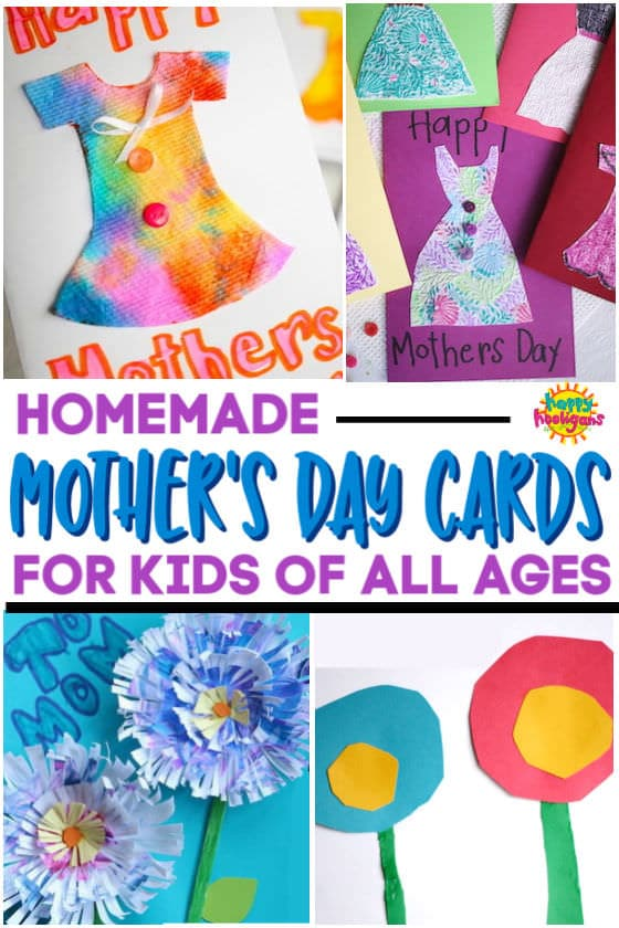 Homemade Mother's Day Card Ideas for Kids of All Ages