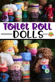 toilet roll dolls for kids to make