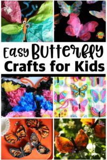 10+ Easy Butterfly Crafts for Kids