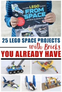 25 LEGO Space Projects with Your Own Bricks