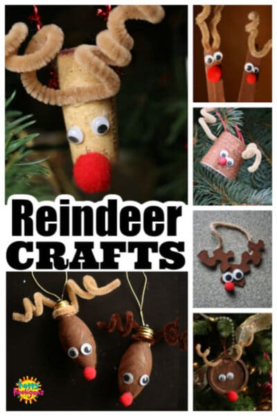 rudoph reindeer crafts