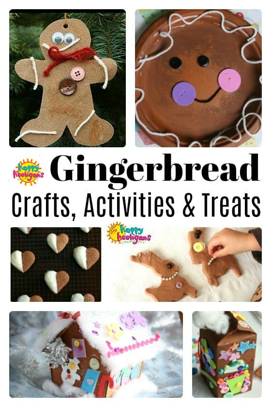 Gingerbread crafts, activities and treats - feature image