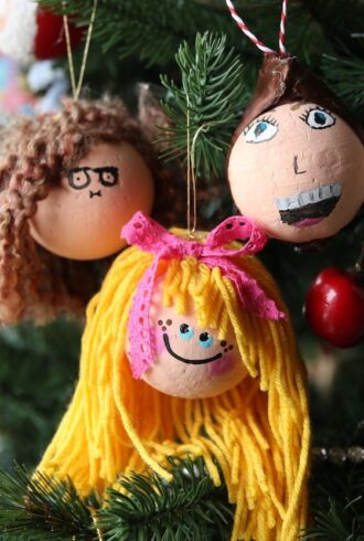 self portrait ornaments feature image