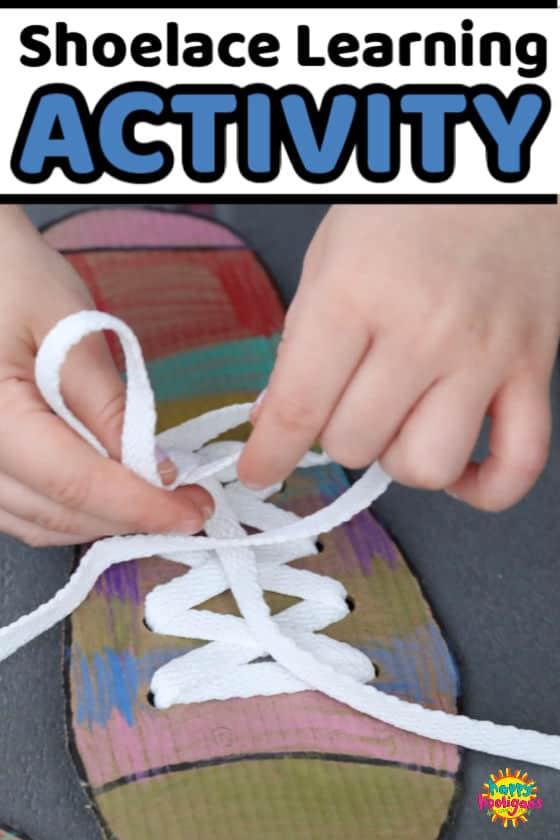 Shoe Tying Practice Board - feature image