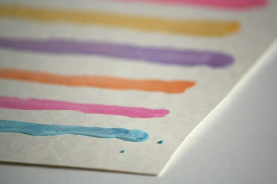Homemade Watercolours For Kids