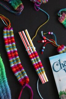 Weaving with Straws- feature photo