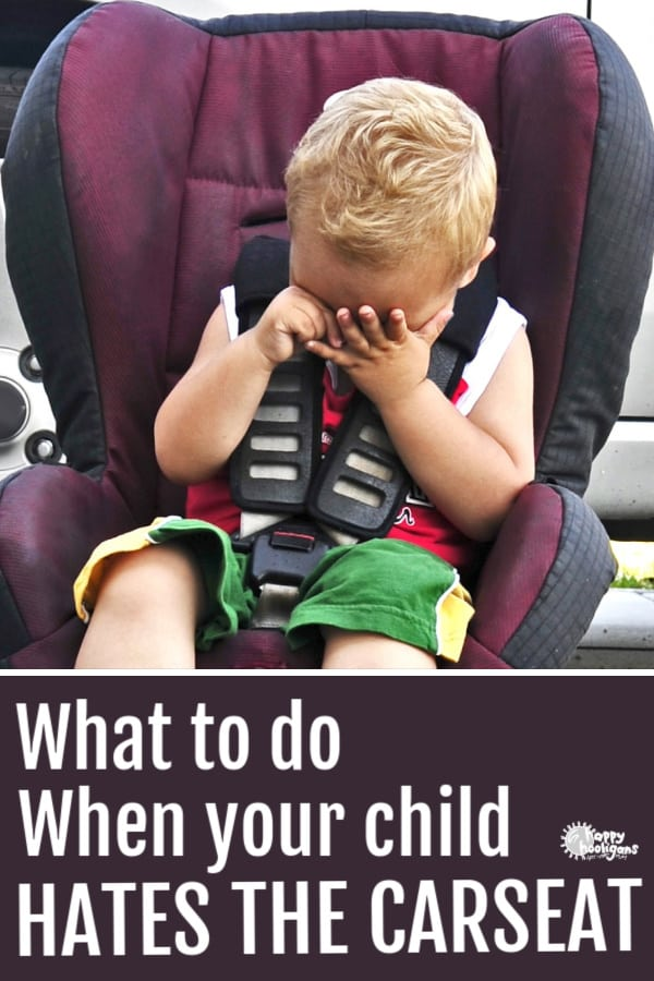Child Crying in Car Seat