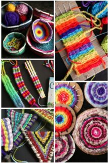 Weaving Crafts for Kids - Feature Image