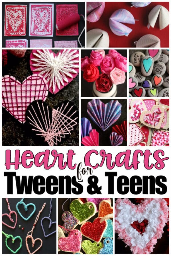 11 Cool Valentines Crafts for Tweens and Teens