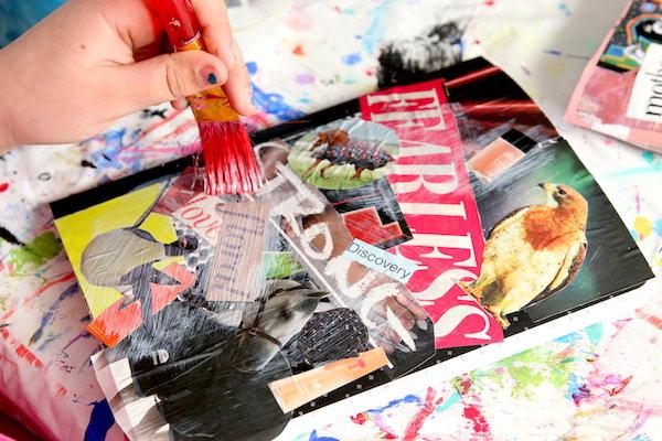 teen crushing decorating journal