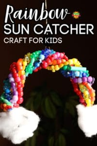 Rainbow Sun Catcher Craft for Kids