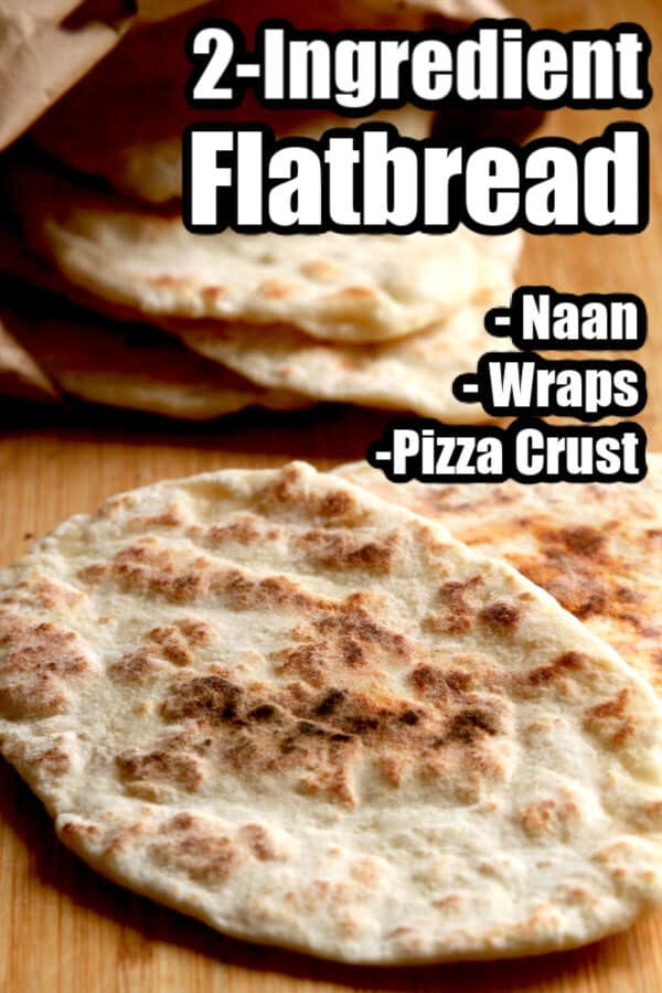2-Ingredient Flatbread Recipe