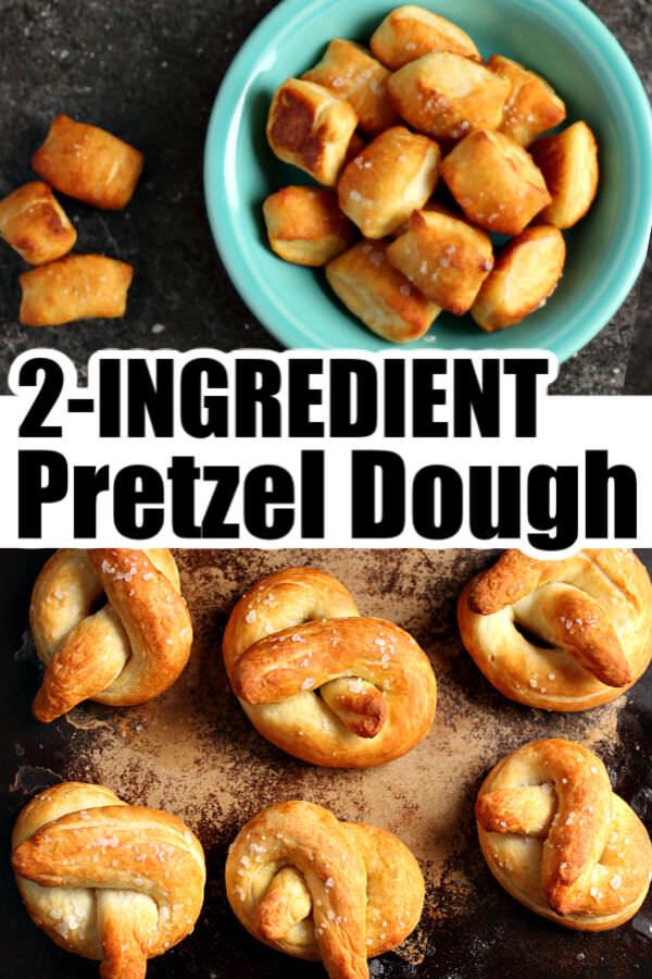 2 Ingredient Pretzel Dough Recipe
