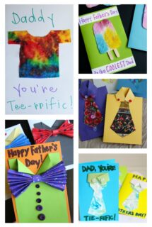 kid-made father's day cards