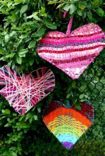 hearts of hope coat hanger weaving feature image
