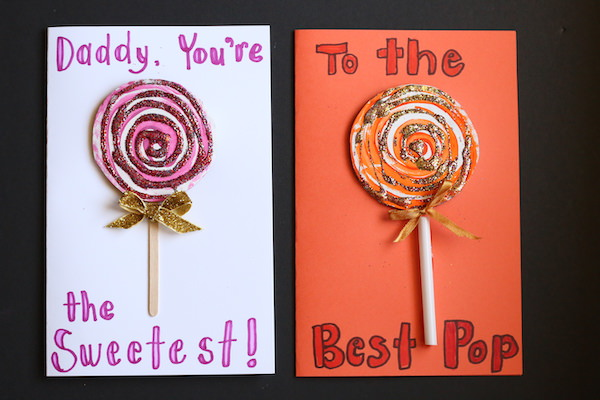 Hey Lovely!  I have the SWEETEST homemade Father's Day card to share with you today!   This one is SUPER-EASY to make, and oh my gosh, it is ADORABLE!!  If you're not a fan of glitter, don't worry... the glitter is optional.   All ages will enjoy making this one.   Check out how darn cute it is! Go! Go!  Just click the link below. xx