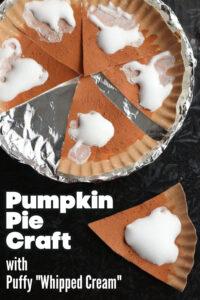 1000x1500 Pumpkin Pie Craft Puffy Whipped Cream