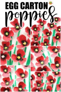 Egg Carton Poppies 1000x1500