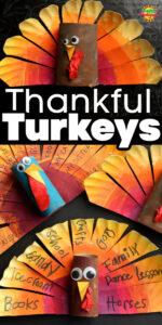 Thankful Turkeys square and horiz 600x1200