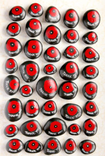 Poppy Stones displayed vertically on white background - feature image