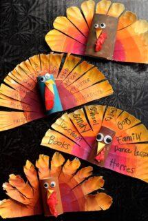 thankful turkey craft feature image
