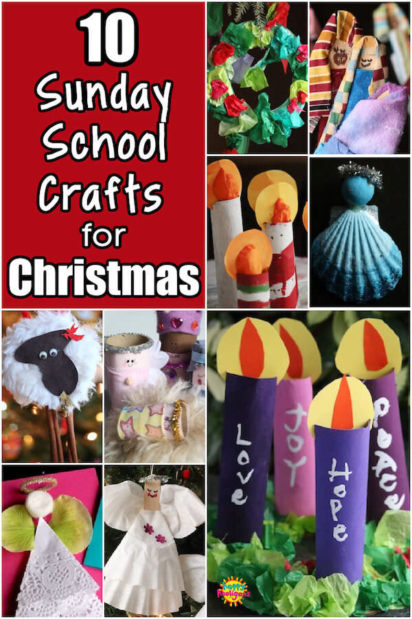 Sunday School Crafts for Christmas