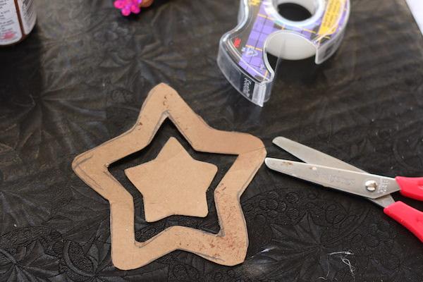 cardboard stars cut out