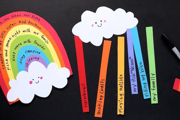 cloud coloured strips